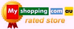 Myshopping com au rated store